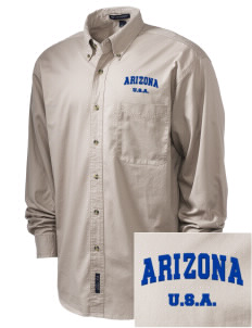 Arizona Embroidered Tall Men's Twill Shirt