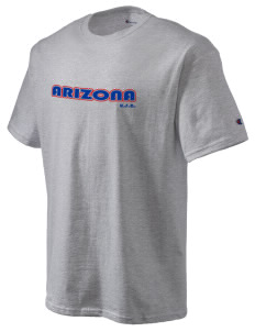 Arizona Champion Men's Tagless T-Shirt