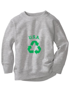 Arkansas Toddler Crewneck Sweatshirt