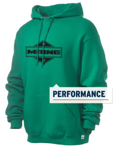 Maine Russell Men's Dri-Power Hooded Sweatshirt