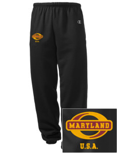 Maryland Embroidered Champion Men's Sweatpants