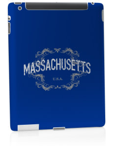 Massachusetts Apple iPad 2 Skin