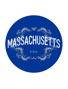 Massachusetts Sticker