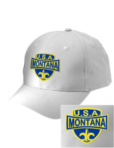 Montana Embroidered Low-Profile Cap