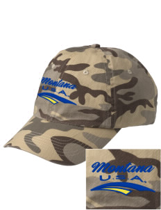 Montana Embroidered Camouflage Cotton Cap