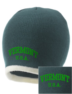Vermont Embroidered Knit Cap