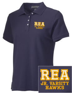 Riverview East Academy Hawks Embroidered Women's Performance Plus Pique Polo