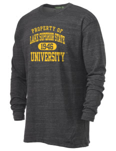 Lake Superior State University Lakers Alternative Men's 4.4 oz. Long-Sleeve T-Shirt