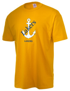 Lake Superior State University Lakers  Russell Men's NuBlend T-Shirt