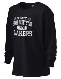 Grand Valley State University Lakers Kid's 6.1 oz Long Sleeve Ultra Cotton T-Shirt