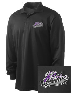 University of Mount Union Purple Raiders Embroidered Men's Long Sleeve Micropique Sport-Wick Sport Shirt