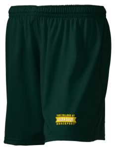 "SUNY Brockport Golden Eagles Embroidered Holloway Women's Performance Shorts, 5"" Inseam"