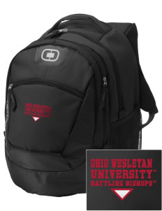 Ohio Wesleyan University Battling Bishops Embroidered OGIO Rogue Backpack