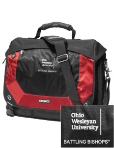 Ohio Wesleyan University Battling Bishops Embroidered OGIO Jack Pack Messenger Bag