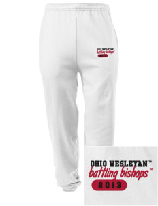 Ohio Wesleyan University Battling Bishops Embroidered Men's Sweatpants with Pockets