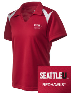 Seattle University Redhawks Embroidered Holloway Women's Laser Polo
