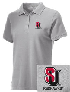Seattle University Redhawks Embroidered Women's Performance Plus Pique Polo