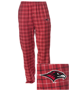 Seattle University Redhawks Embroidered Men's Button-Fly Collegiate Flannel Pant