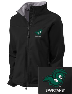 Castleton State College Spartans Embroidered Women's Glacier Soft Shell Jacket