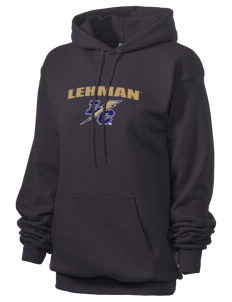 Lehman College Lightning Unisex 7.8 oz Lightweight Hooded Sweatshirt