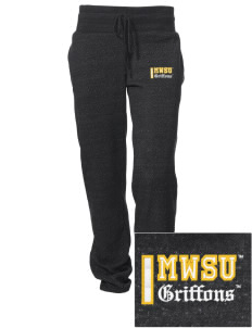 Missouri Western State University Griffons Embroidered Alternative Women's Unisex 6.4 oz. Costanza Gym Pant