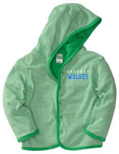 Cheyney University Wolves  Baby Snap Front Reversible Jacket