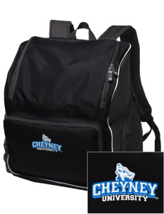 Cheyney University Wolves Embroidered Holloway Backpack