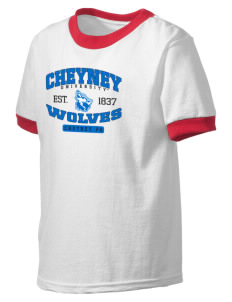 Cheyney University Wolves Kid's Ringer T-Shirt