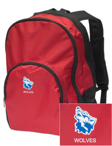 Cheyney University Wolves Embroidered Value Backpack