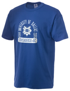 University of Dallas Crusaders  Russell Men's NuBlend T-Shirt