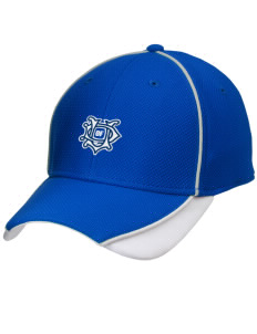 University of Dallas Crusaders Embroidered New Era Contrast Piped Performance Cap