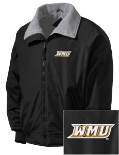 Western Michigan University Broncos Embroidered Men's Fleece-Lined Jacket