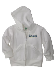 The University of Akron Zips Baby Full Zip Hoodie