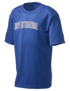 Hope International University Royals  Holloway Kid's Zoom Performance T-Shirt