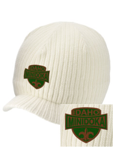 Minidoka National Historic Site Embroidered Knit Beanie with Visor