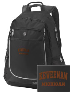 Keweenaw National Historical Park Embroidered OGIO Carbon Backpack