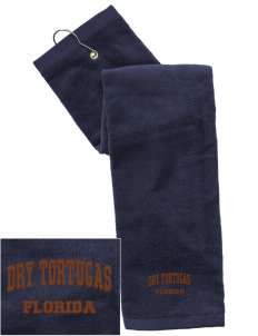 Dry Tortugas National Park Embroidered Hand Towel with Grommet