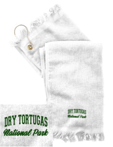 Dry Tortugas National Park  Embroidered Grommeted Finger Tip Towel