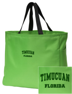 Timucuan Ecological & Historic Preserve Embroidered Essential Tote