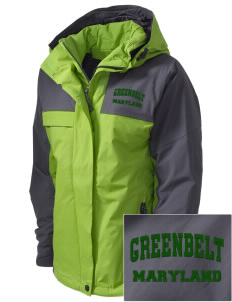 Greenbelt Park  Embroidered Women's Nootka Jacket
