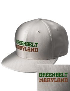 Greenbelt Park  Embroidered New Era Flat Bill Snapback Cap