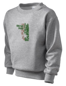 Greenbelt Park Kid's Crewneck Sweatshirt