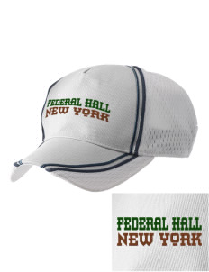 Federal Hall National Memorial  Embroidered Champion Athletic Cap