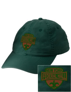 Federal Hall National Memorial Embroidered Vintage Adjustable Cap