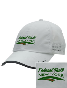 Federal Hall National Memorial Embroidered Nike Dri-FIT Swoosh Perforated Cap
