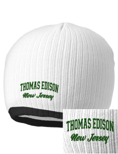 Thomas Edison National Historical Park Embroidered Champion Striped Knit Beanie