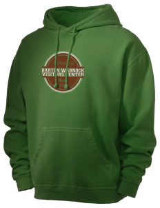Barton Warnock Visitors Center Men's 80/20 Pigment Dyed Hooded Sweatshirt