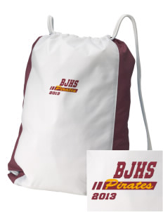 Byng Junior High School Pirates Embroidered Holloway Home and Away Cinch Bag