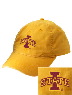 Iowa State University Cyclones Embroidered Vintage Adjustable Cap