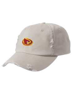 Iowa State University Cyclones Embroidered Distressed Cap